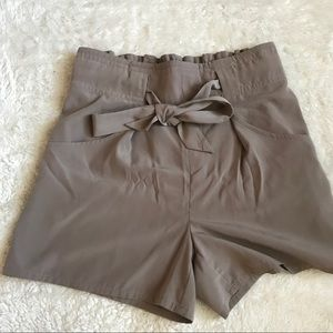 High wasted silky shorts!